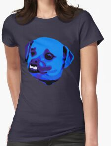 Dog Teeth Womens Fitted T-Shirt