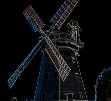 Upminster windmill Essex by DavidHornchurch