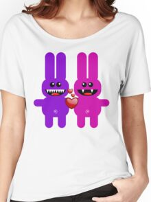 RABBIT LOVERS Women's Relaxed Fit T-Shirt