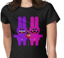 RABBIT LOVERS Womens Fitted T-Shirt
