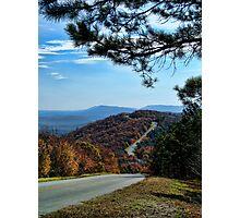 Beautiful Talimena Drive Photographic Print
