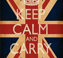 Keep Calm And Carry On. by MrManG