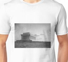 Construction of The Lincoln Memorial (1920) Unisex T-Shirt