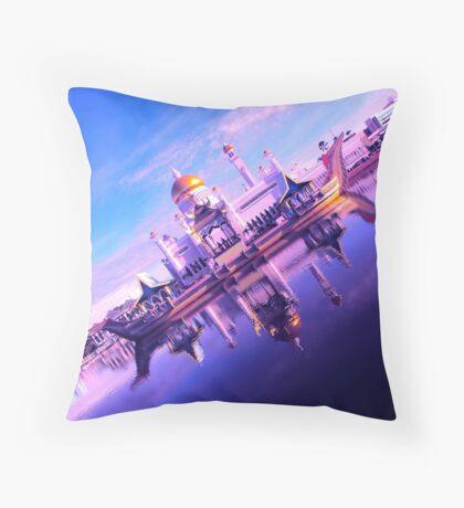 BRUNEI DARUSSALAM ~ A NEW PERSPECTIVE Throw Pillow