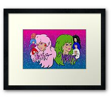 Jem and the Holograms Vs The Misfits Framed Print