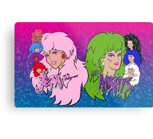 Jem and the Holograms Vs The Misfits Metal Print