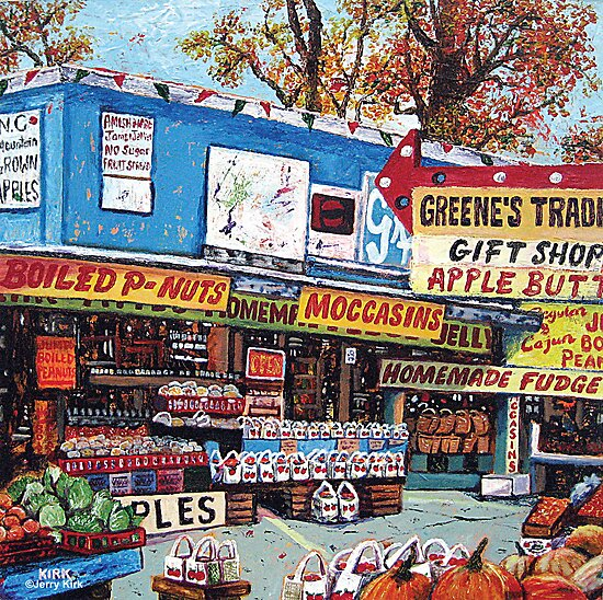 'Greene's Trading Post' by Jerry Kirk