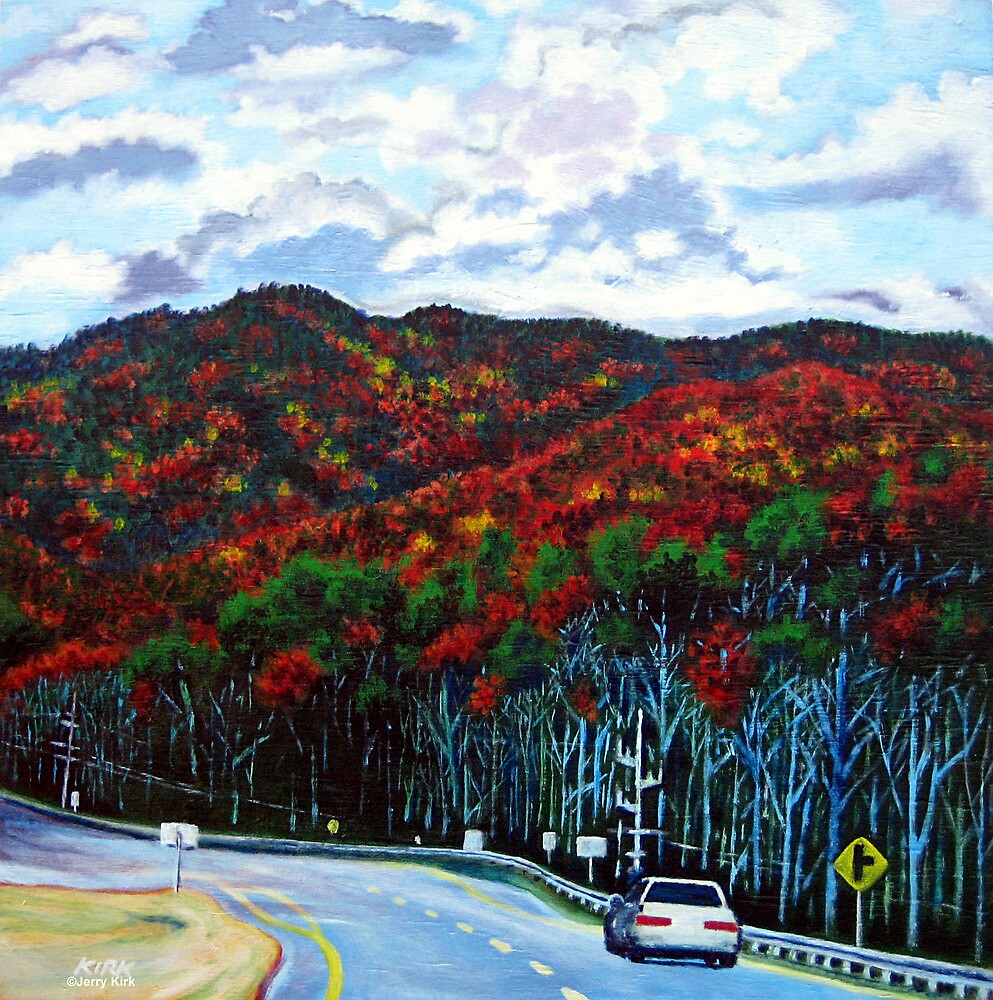 '321N towards Blowing Rock' by Jerry Kirk
