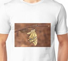 butterfly emerging from its cocoon  Unisex T-Shirt