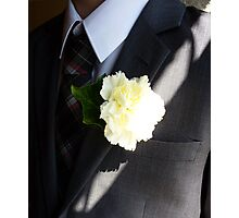 Wedding Buttonhole Photographic Print