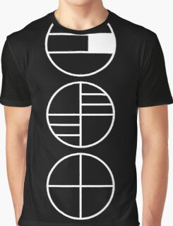 BAUHAUS ALPHABET SYMBOLS Graphic T-Shirt