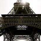 The Eiffel Tower (At An Angle) by idenationarts