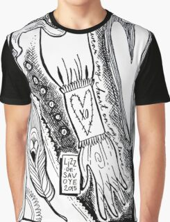 Heart On My Sleeve Graphic T-Shirt