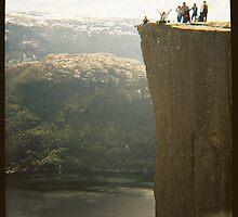 Pulpit Rock - Preikestolen - Rogaland, Norway - Diana 120mm Photograph by ztrnorge