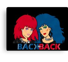 Kimber & Stormer - Back to Back Canvas Print