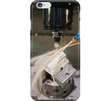Metal tooling shop floor iPhone Case/Skin