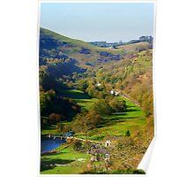 Monsal Dale, Derbyshire Poster