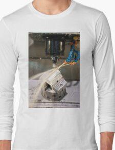 Metal tooling shop floor Long Sleeve T-Shirt