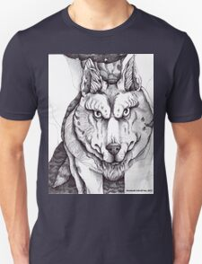 The Big Bad Wolf (without text) Unisex T-Shirt