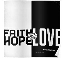 Faith, Hope, Love II Poster