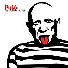 Pablo Picasso Tongue Art by deificusArt