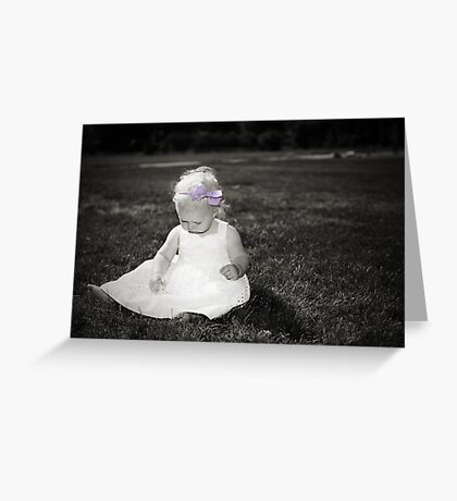 Lila Greeting Card