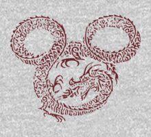 Dragon Mickey by chwbcc