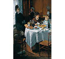 The Luncheon - Claude Monet - 1868 Photographic Print