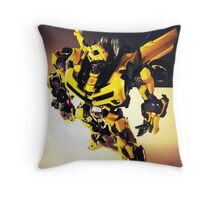 Transformers Bumblebee Throw Pillow