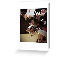 Transformers Drift Greeting Card