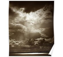 Cloud Over The Mersey Poster