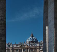 View Of St Peter's  by Al Bourassa