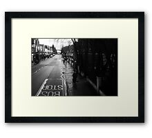 LONDON: VIEWS FROM THE TOP DECK PT 10: HER MAJESTY  Framed Print