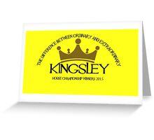 Kingsley House Logo Greeting Card