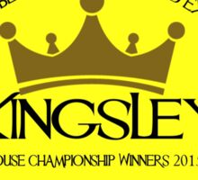 Kingsley House Logo Sticker