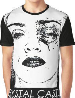 C/R/Y/S/T/A/L//C/A/S/T/L/E/S Graphic T-Shirt