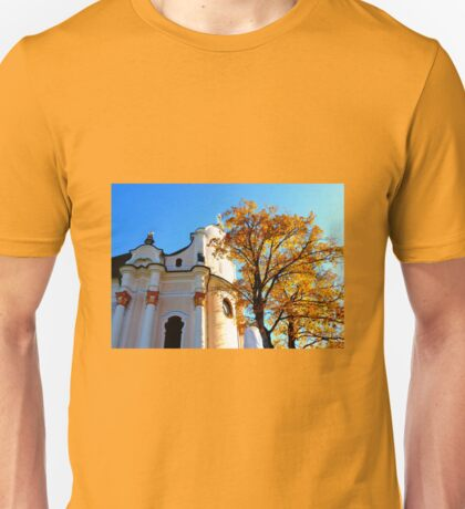 Wieskirche ~ UNESCO World Heritage Site Unisex T-Shirt