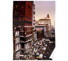 Vintage Broadway NYC Photo-Print (1900) Poster