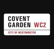 Covent Garden, Street Sign, London, UK Baby Tee