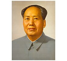 Chairman Mao Photographic Print