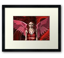 Red Angel Framed Print
