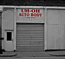 Uh-Oh Auto Body by Sheryl Gerhard