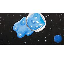 Gummy Bear in Space Photographic Print