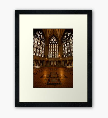 The Chapter House Framed Print