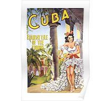 Cuba--Holiday Isle of the Tropics 2 (Cuba 3) Poster