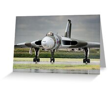 Avro Vulcan XH558 Greeting Card