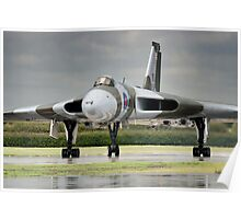 Avro Vulcan XH558 Poster