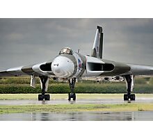 Avro Vulcan XH558 Photographic Print