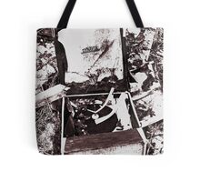 Old Record Player Tote Bag