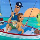 """""""Fishing Expedition"""" by Sharon Geisen Hayes"""